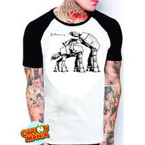 Camiseta Raglan Star Wars Satira Masculina Ou Feminina