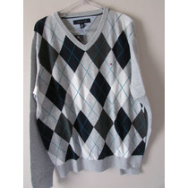 Blusa Tricot Tommy Hilfiger Masculina - Tamanho M