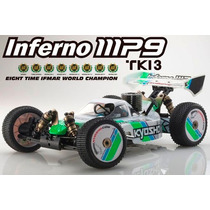 Kyosho Inferno Mp9 Tki3 Rtr Nitro 4x4 1/8 Rádio 2.4 + Brinde
