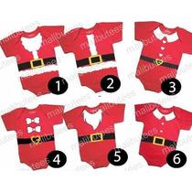 Body Natal Atacado Papai Noel Bori Infantil Kit Com 10
