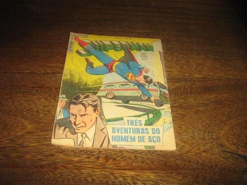 Superman 3ª Série Nº 14 Junho/1965 Editora Ebal Original