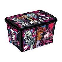 Caixa Decorada Monster High 18,7 Litros - Plasútil