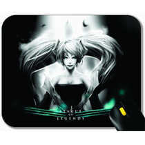 Mouse Pad, Mousepad, League Of Legends, Sona, Suporte
