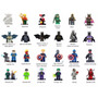 Minifigures Heróis Avengers Marvel Dc Blocos De Montar