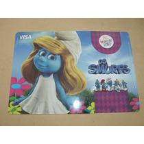 = Smurfs = Smurfete Suplá Porta Pratos Mc Donalds Visa