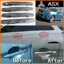 Mitsubishi Asx Capa De Maçaneta Cromada Com Sensor De Chave.