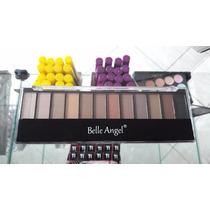 Paleta De Maquiagem Belle Angel Cores Nudes Top