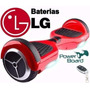 Hoverboard Skate Elétrico Scooter + Bateria Lg E Samsung