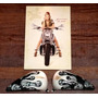 Replica De Metade De Tanque De Harley Davidson