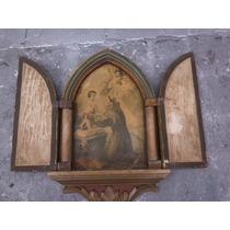 Antigo Orátorio Arte Sacra Linda Peça Decorativa