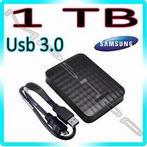 Hd 1tb Externo Samsung M3 Portátil De Bolso Usb 3.0 E 2.0