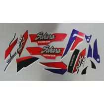 Kit Adesivos Honda Nx 350 Sahara 1997 Roxa