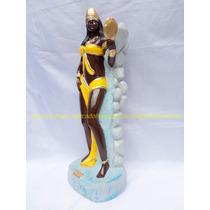 Escultura Orixa Mãe Oxum Imagem 40cm Linda Pintura Brilhante