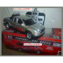 Carrinho Controle Remoto Carro Estilo Camionete 4x4 20x7cm !
