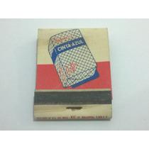Caixa De Fósforo Sabonete Cinta Azul - Lt0051
