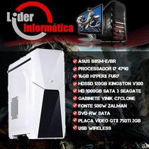 Cpu Gamer Intel I7 4ª Geração, 16gb Ram, Gtx