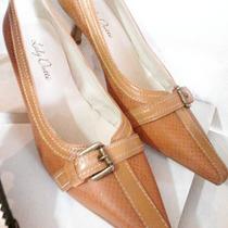 Sapato Feminino De Salto Baixo, Marca: Lady Dutti