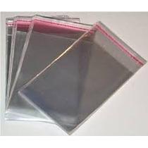 1000 Envelopes Plásticos Para Cd/dvd Com Aba Adesivada 20x15