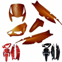 Kit De Carenagem [pintad] Honda Biz 125 + Até 2010 - S/ Ade