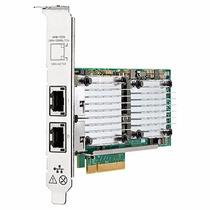 Placa De Rede P/ Servidor Hp-dual Gigabit Pci-e - 656596-b21