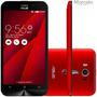Smartphone Zenfone 2 Laser Ze550 Vermelho 13 Mp 4g Sem Juros