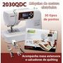Máquina De Costura Janome 2030qdc +cortador Manual De Brinde