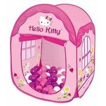 Toca Braskit Hello Kitty House Com Bolinhas