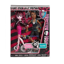 Monster High Draculaura E Clawd Festival De Musica Original