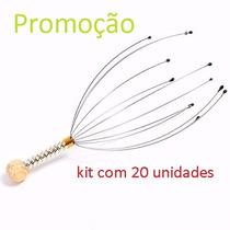 Kit Com 20 Massageadores De Cabeça Capilar Cafuné