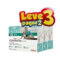 Combo Anti-pulgas Comfortis 9 A 18 Kg - Leve 3 Pague 2