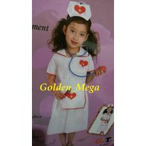 Fantasia Infantil Enfermeira Médica