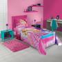 Jogo De Cama 3 Peças Barbie Rock Royals | Lepper