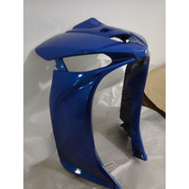 Crypton 115 2010 2016 Carenagem Frontal Azul Orig Yamaha 0km