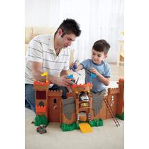 Castelo Reino De Aguia Imaginext Fisher Price Mattel Pronta