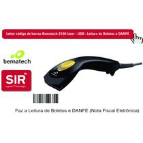 Leitor Código De Barras Bematech S100 Laser - Usb