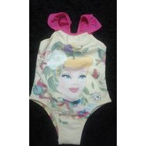 Maiô Biquine Barbie Disney Infantil Bebê Criança Luxo 2 Anos