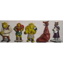 Shrek Para Sempre Lote C/5 Minis Kinder Ovo Fiona Brogan