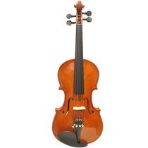 Violino 3/4 Standard Ambar Completo Com Case Luxo E Arco
