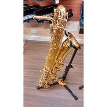 Sax Baritono Zion Novo + Boquilha Yamaha