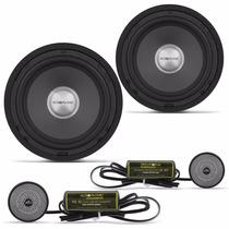 Kit 2 Vias Audiophonic Ks-6 Sensation 6,5 120rms Modelo Novo