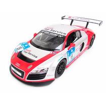Carrinho Controle Remoto Audi R8 Lms Race 7 Funções 1/14