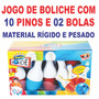 Kit Com 15 Jogos De Boliche Infantil Com 12 Peças Cada Jogo
