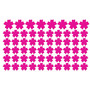 Adesivo Decorativo De Parede Flores Cores Diversas