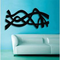 Quadro Decorativo Adorno De Parede Abstrato Em Mdf 3mm !!