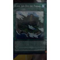 Ilha Do Rei De Fogo Shvi-pt092 Fire King Island Comum Yugioh