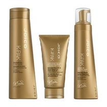 Kit Joico K-pak Shampoo+ Deep Penetrat.+ Leave-in Protectant