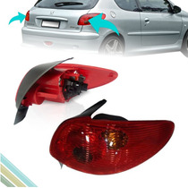 Lanterna Traseira - Peugeot 206 2004 05 06 07 08 2009