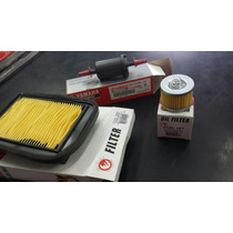 Filtro Ar + Filtro Óleo + Filtro Gasolina Fazer 150