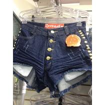 Kit 10 Peças Shorts Jeans Feminino Atacado