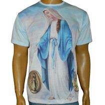 Camiseta De Nossa Senhora Das Graças P M G Gg
